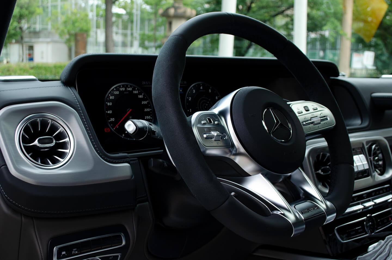 Mercedes-AMG G63 manufaktur Edition のステアリング