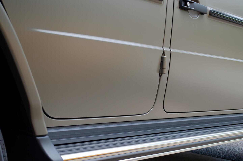 コーティングやプロテクションフィルムを施工したMercedes-AMG G63 manufaktur Edition
