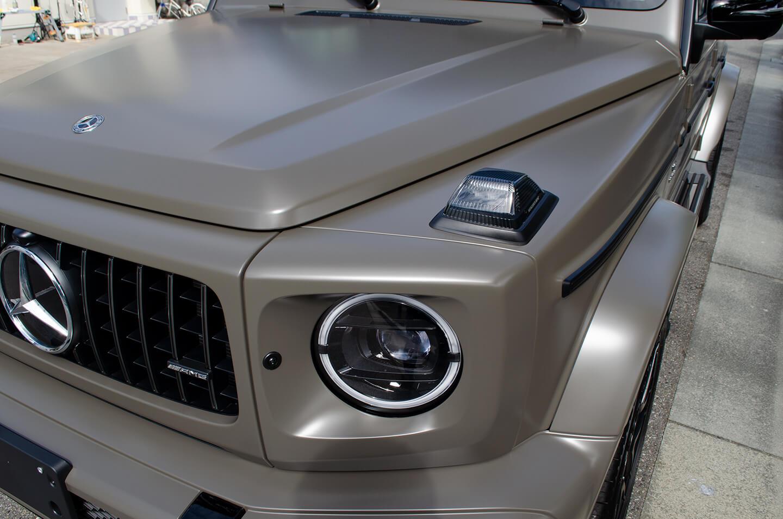 コーティングを施工したMercedes-AMG G63 manufaktur Edition