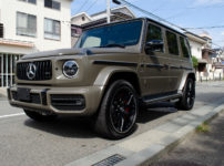 コーティングを施工したMercedes-AMG G63 manufaktur Edition