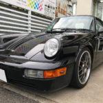 ルームクリーニングを施工した PORSCHE 911 964