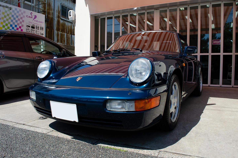 コーティングを施工した PORSCHE 911 964
