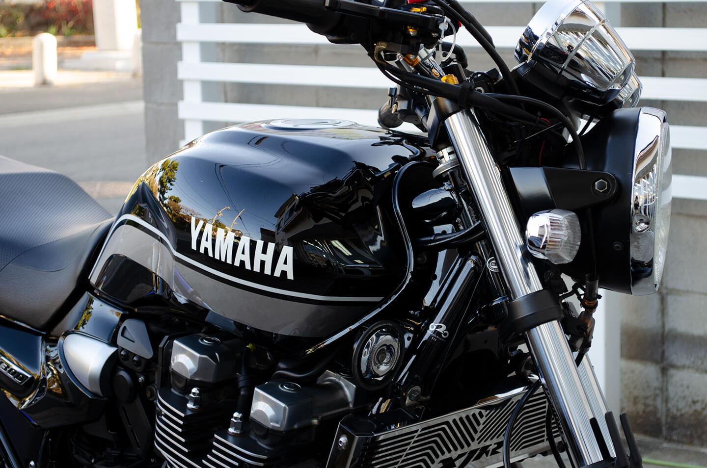 コーティング施工後の YAMAHA XJR 1300