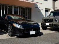 コーティングを施工したマセラティ グラントゥーリズモとMercedes-AMG G63