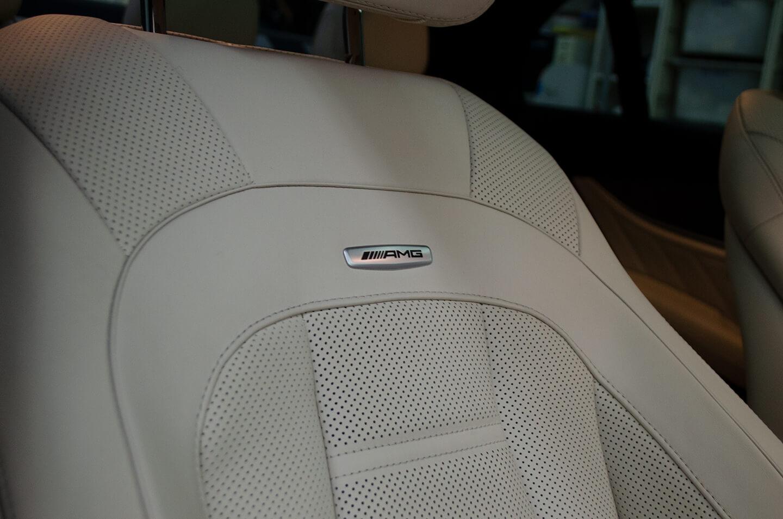コーティング施工後のメルセデス AMG E43 W213のインテリア