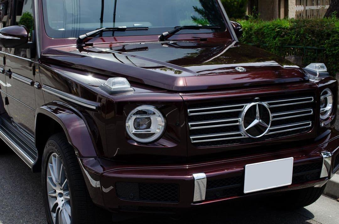 Mercedes-Benz G350d ミステックブラウン