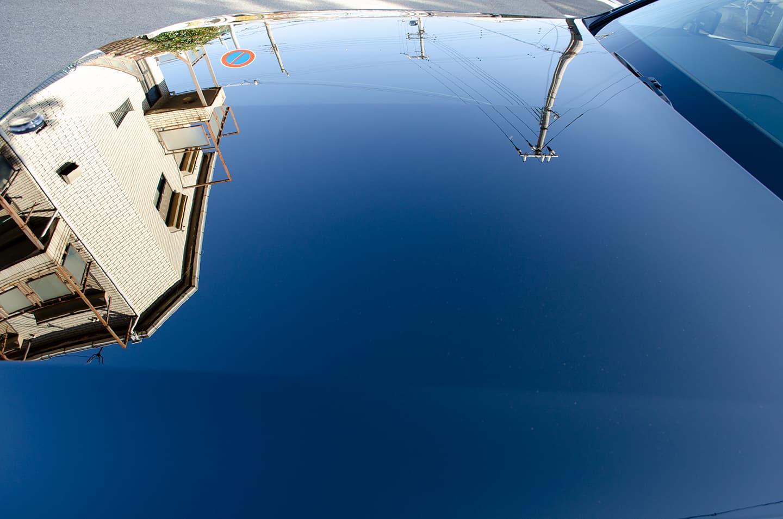 コーティングを施工したトヨタ センチュリー 神威エターナルブラック(225)