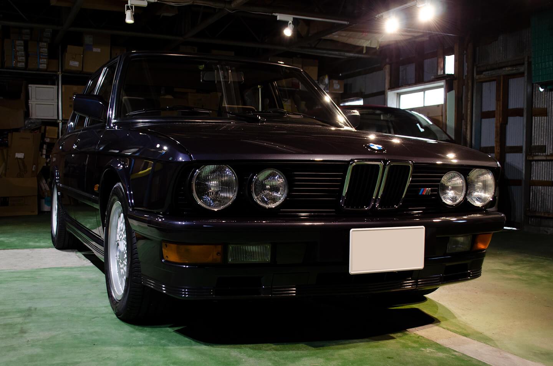 コーティングを施工した BMW M535i Edition5 (E28)