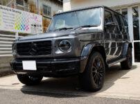プロテクションフィルムなどを施工したMercedes-Benz G400d manufaktur Edition セレナイトグレー