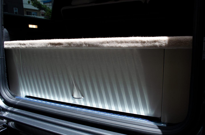 メルセデス G400dに施工したラゲッジボード